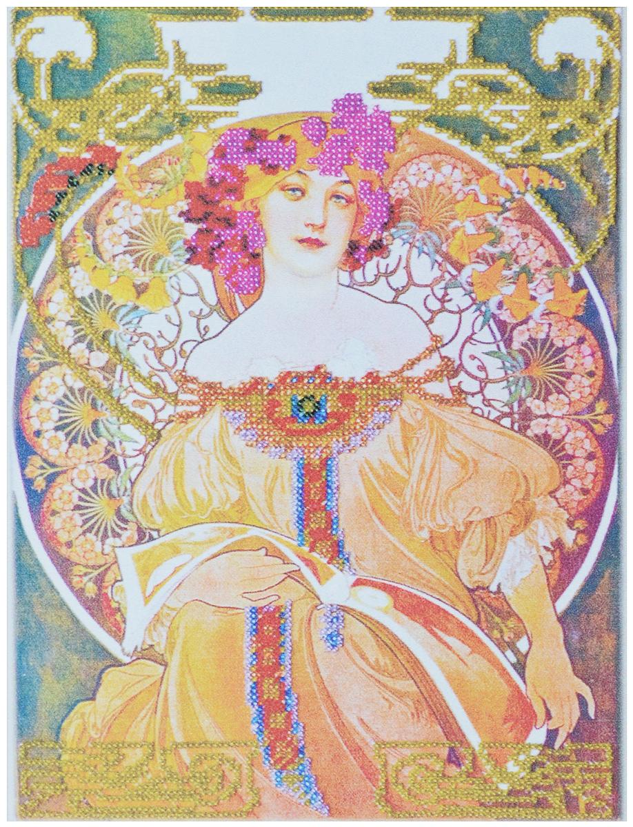 Набор для вышивания бисером Абрис Арт Любава, 23,5 х 31 см498093Набор для вышивания бисером Абрис Арт Любава поможет вам создать свой личный шедевр - оригинальную картину, вышитую бисером. Изящный рисунок удовлетворит взгляд любого эстета. Набор содержит: - натуральный художественных холст с нанесенным рисунком, - высококачественный бисер (10 цветов), - иглы для бисера (3 шт.), - инструкция на русском и английском языках. Размер готовой работы: 23,5 х 31 см. Размер холста: 29,5 х 31 см. По окончанию работы вышивку можно покрыть лаком (алкидный мебельный, акриловый, художественный). Вышивка Любава станет отличным подарком родным и близким. Также вы можете поставить свою подпись, сделать дарственную надпись. Это добавит подарку еще больше оригинальности.