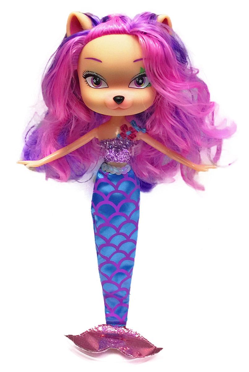 Daisy Кукла Жюли-русалка41245Daisy Pets - это серия ярких и очень позитивных фантазийных кукол. Наши маленькие домашние питомцы обожают своих хозяев и всегда мечтают быть похожими на них: носить такие же красивые, яркие платья, делать стильные прически и наносить оригинальный макияж. Каждая из таких милых игрушек отличается от других своей оригинальностью и специфическим внешним видом, способным покорить сердце любого… Девочки просто в восторге от наших кукол с роскошными длинными цветными волосами! Их можно наряжать, причесывать и играть с ними, создавая свой волшебный мир! Каждая девочка сможет выбрать своего любимца