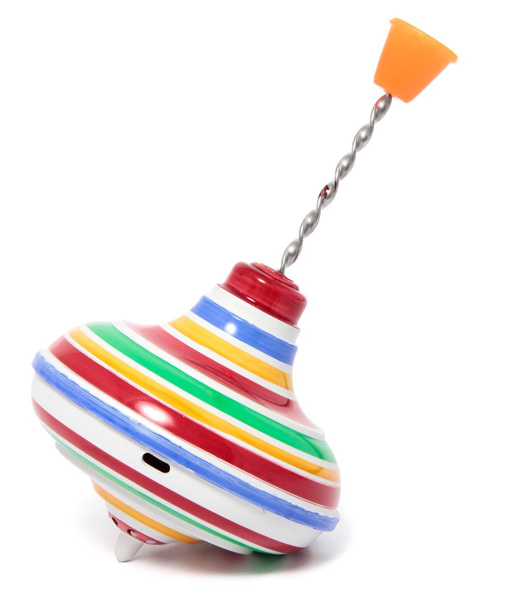 Юла Полосатая малаяП-0012Динамическая игрушка для малышей. Стимулирует познавательную активность, помогает ребенку в устанавлении причинно-следственных связей между действиями и явлениями, развивает координацию и моторику рук. Внутри игрушки, на двух ярусах, имеются пластмассовые шарики. Приведенная в движение юла гудит.