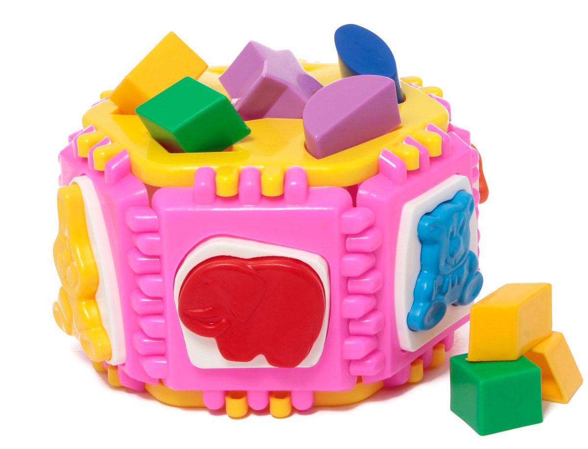 Развивающая игрушка Логический круг Nina/30П-0339Логический и обучающий центр для малышей. Развивает цветовосприятие, мелкую моторику рук, логическое мышление и пространственное воображение. Знакомит детей с геометрическими фигурами. Игрушка полностью разбирается (стенки игрушки соединяются по принципу пазлов). Материал: пластик
