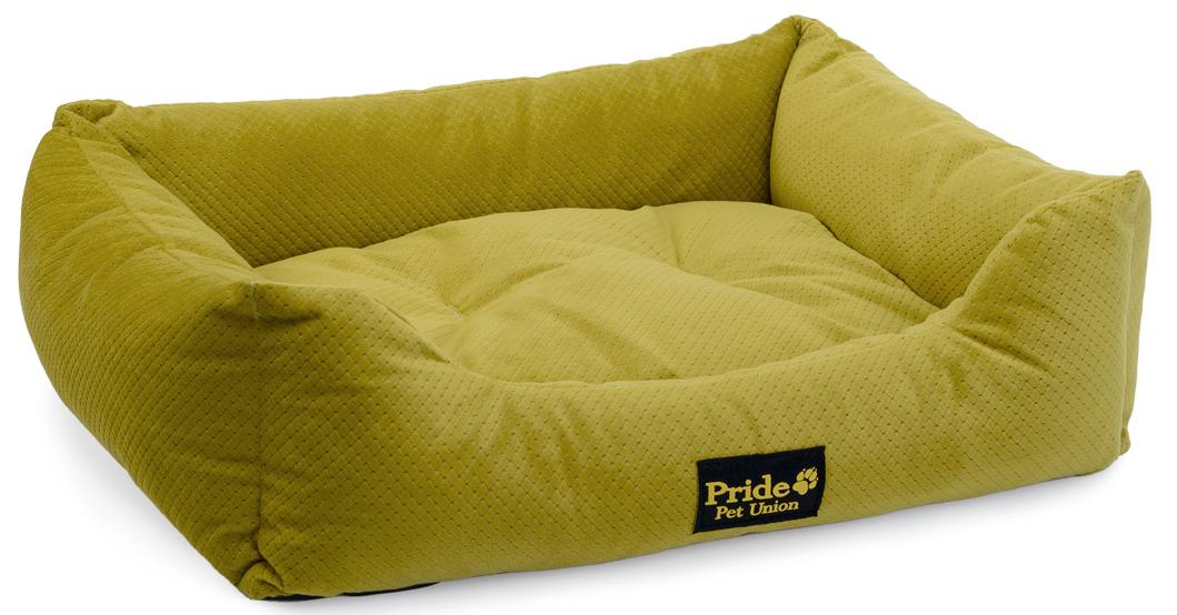 Лежак для животных Pride Престиж, цвет: зеленый, 56 х 48 х 16 см10012141Лежак для животных Pride Престиж прекрасно подойдет для отдыха вашего домашнего питомца. Предназначен для собак средних и мелких пород. Изделие выполнено из прочной ткани. Снабжено невысокими широкими бортиками и съемной мягкой подушкой. Комфортный и уютный лежак обязательно понравится вашему питомцу, животное сможет там отдохнуть и выспаться. Размер лежака: 56 х 48 х 16 см. Наполнитель: 100% полиэфирные волокна. Ткань: велюр.
