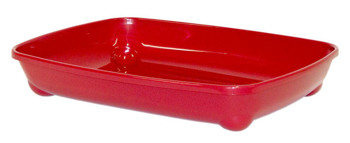 Туалет для котят Moderna Arist-O-Tray, цвет: бордовый, 37х28х6 см14C120202