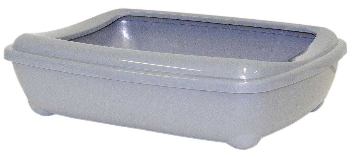 Туалет открытый Moderna Arist-O-Tray, цвет: серый, 31х42х13 см14C132026