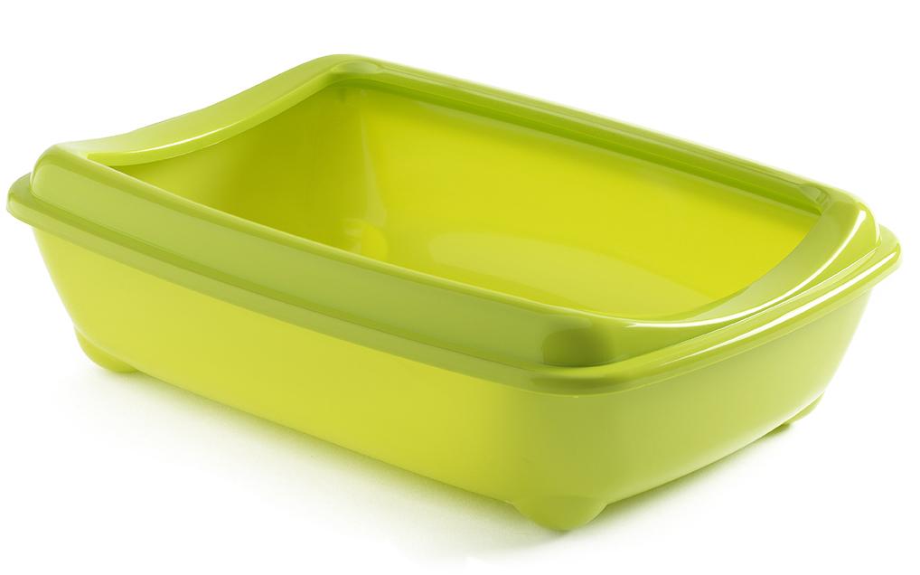 Туалет открытый Moderna Arist-O-Tray, цвет: зеленый, 31х42х13 см14C132173