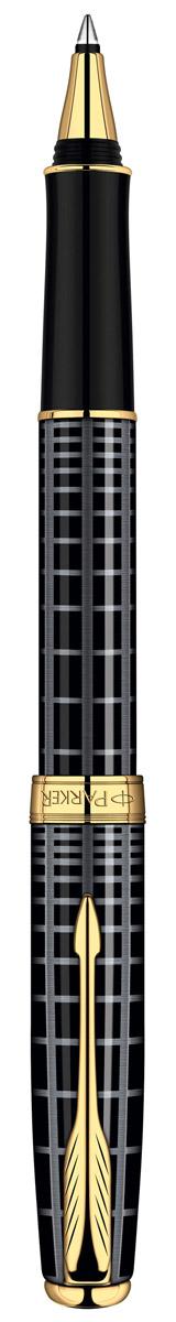 Роллер Sonnet Dark Grey Laque GT. PARKER-S0912460PARKER-S0912460Ручка-роллер «Паркер Соннет Дарк Грей Джи Ти». Чернила черного цвета, линия письма – тонкая, в подарочной упаковке. Произведено во Франции.