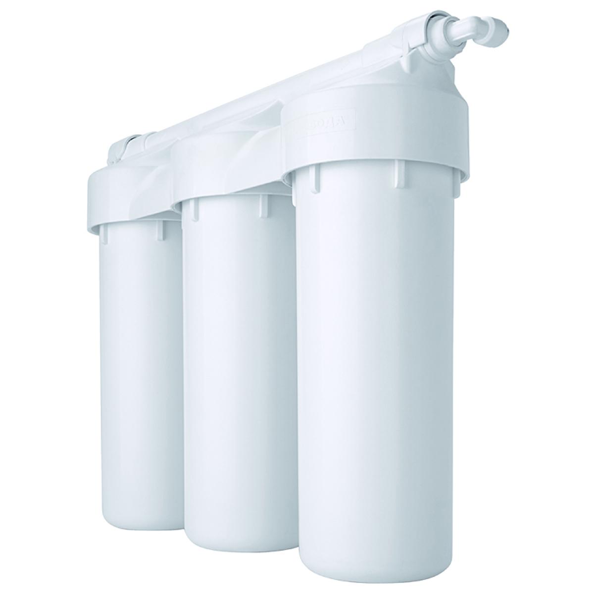 Водоочиститель Prio Praktic. EU305, с защитой от перепадов давленияEU305В новой линейке Praktic соединены проверенные временем традиционные решения на базе стандартных 10-дюймовых картриджей с современными техническими решениями 21 века и немецкими технологиями от компании Prio®. Фильтры серии Praktic превосходно очищают водопроводную воду от всех самых опасных загрязнений, в том числе хлора и хлорной органики, механических примесей, канцерогенов, тяжелых металлов и т. д., улучшают вкус воды, устраняют посторонние запахи. В результате воду можно пить без кипячения, готовить на её основе еду и напитки даже для грудных детей. Ключевые особенности фильтров серии Praktic, выгодно отличающие их от большинства систем других производителей: - благодаря армированному корпусу и увеличенному количеству витков резьбы в местах соединения - выдерживают максимальное ударное давление до 28 атм, 100 тыс гидроударов (по методике тестирования целостности согласно NSF 58) - цельнолитая «голова» исключает вероятные протечки в местах соединения -...