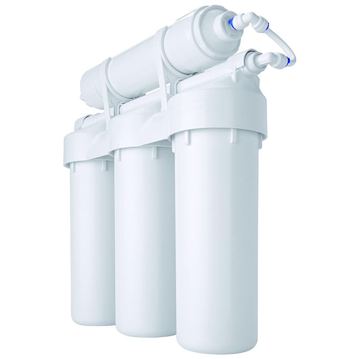 Водоочиститель Prio Praktic. EU310, с защитой от перепадов давленияEU310В новой линейке Praktic соединены проверенные временем традиционные решения на базе стандартных 10-дюймовых картриджей с современными техническими решениями 21 века и немецкими технологиями от компании Prio®. Фильтры серии Praktic превосходно очищают водопроводную воду от всех самых опасных загрязнений, в том числе хлора и хлорной органики, механических примесей, канцерогенов, тяжелых металлов и т. д., улучшают вкус воды, устраняют посторонние запахи. В результате воду можно пить без кипячения, готовить на её основе еду и напитки даже для грудных детей. Ключевые особенности фильтров серии Praktic, выгодно отличающие их от большинства систем других производителей: - благодаря армированному корпусу и увеличенному количеству витков резьбы в местах соединения - выдерживают максимальное ударное давление до 28 атм, 100 тыс гидроударов (по методике тестирования целостности согласно NSF 58) - цельнолитая «голова» исключает вероятные протечки в местах соединения -...