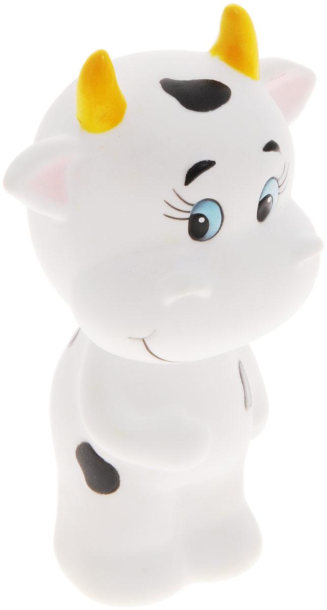 Жирафики Игрушка для ванной Коровка681115Игрушка для ванной Жирафики Коровка привлечет внимание вашего малыша и не позволит ему скучать. При сжатии в руке забавная игрушка весело брызгается предварительно набранной водой. Эту чудесную игрушку можно окунать в воду, мять, слюнявить, грызть, кидать. Выполненная из качественного, гипоаллергенного ПВХ-пластизоля, игрушка будет радовать малыша долгое время. Игрушка способствует развитию мелкой моторики, сенсорного восприятия и воображения.