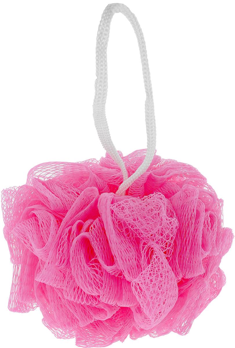 Мочалка Eva Бантик, цвет: розовый, диаметр 11 смМС45_розовыйМочалка Eva Бантик, выполненная из нейлона, предназначена для мягкого очищения кожи. Она станет незаменимым аксессуаром ванной комнаты. Мочалка отлично пенится, обладает легким массажным воздействием, идеально подходит для нежной и чувствительной кожи. На мочалке имеется удобная петля для подвешивания. Диаметр: 11 см.