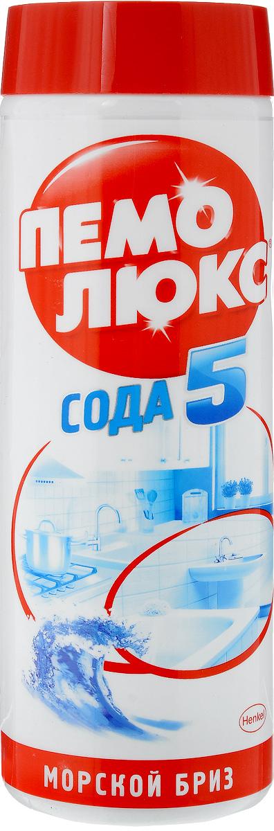 Универсальное чистящее средство Пемолюкс Морской бриз, 480 г935072Уникальная формула Пемолюкс Морской бриз с содой и мягким абразивом. Средство уничтожает бактерии, не содержит хлора и опасных химикатов. Подходит для чистки раковин (на кухне и в ванной комнате), плит, кафеля, ванн, унитазов и различных твердых поверхностей по всему дому. Товар сертифицирован.