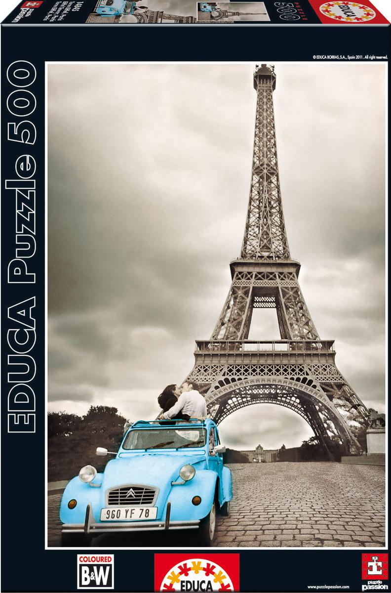 Educa Пазл Эйфелева башня. Париж14845Пазл Эйфелева башня. Париж без сомнения, придется вам по душе, и вы получите массу удовольствия от процесса собирания картины. Пазл - великолепная игра для семейного досуга, захватывающая не только взрослых, но и детей. Собирание пазла развивает мелкую моторику у ребенка, тренирует наблюдательность, логическое мышление, знакомит с окружающим миром, с цветом и разнообразными формами.