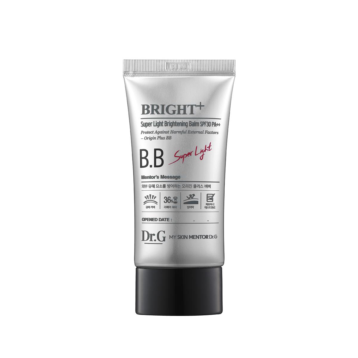 Dr. G ББ крем увлажняющий легкий SPF30 PA++ (#21), 45 млDG136322Гипоаллергенный солнцезащитный крем, укрепляющий здоровье кожи и защищающий от агрессивных факторов окружающей среды. Устраняет пигментацию, маскирует красноту и раздражение, обладает увлажняющими свойствами. Легкий порошок Air-Light Powder создает ясное покрытие с едва уловимым блеском. Разглаживает кожу, сужает поры.