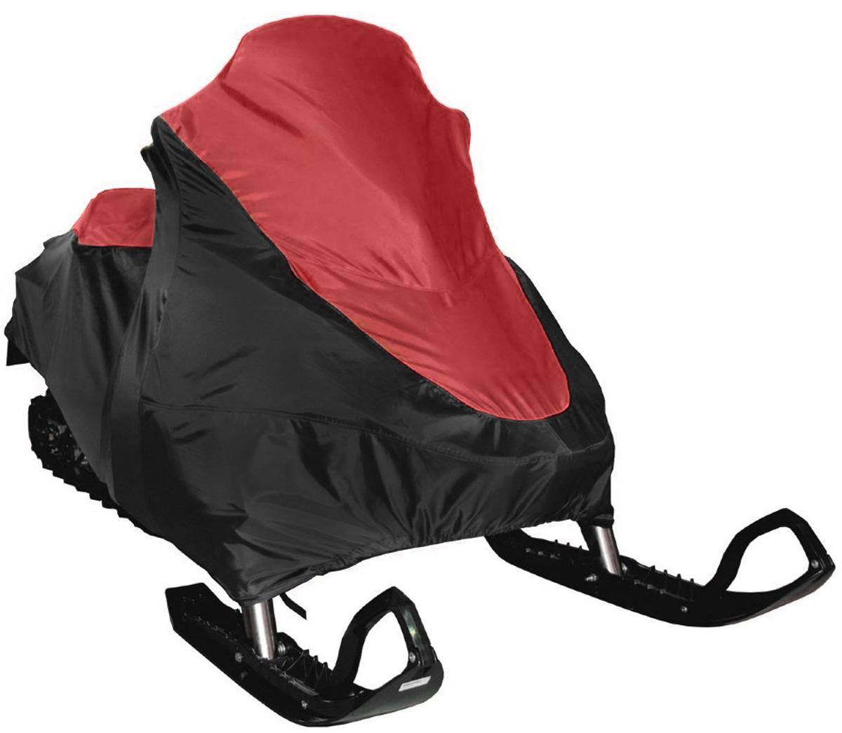 Чехол транспортировочный AG-brand, для снегохода Ski-Doo SKANDIC SWT 600, цвет: черный, красныйAG-BRP-SMB-SK600-TCЧехол для транспортировки AG-brand предназначен для снегохода Ski-Doo SKANDIC SWT 600. Изделие выполнено из прочной влагоотталкивающей ткани плотностью 600 Den, с применением армированных ниток. По нижней кромке чехла вшита плотная резинка, обеспечивающая надежную фиксацию на снегоходе. В комплект транспортировочного чехла входит прочная текстильная стропа для крепления техники в прицепе или специальном боксе для перевозки.