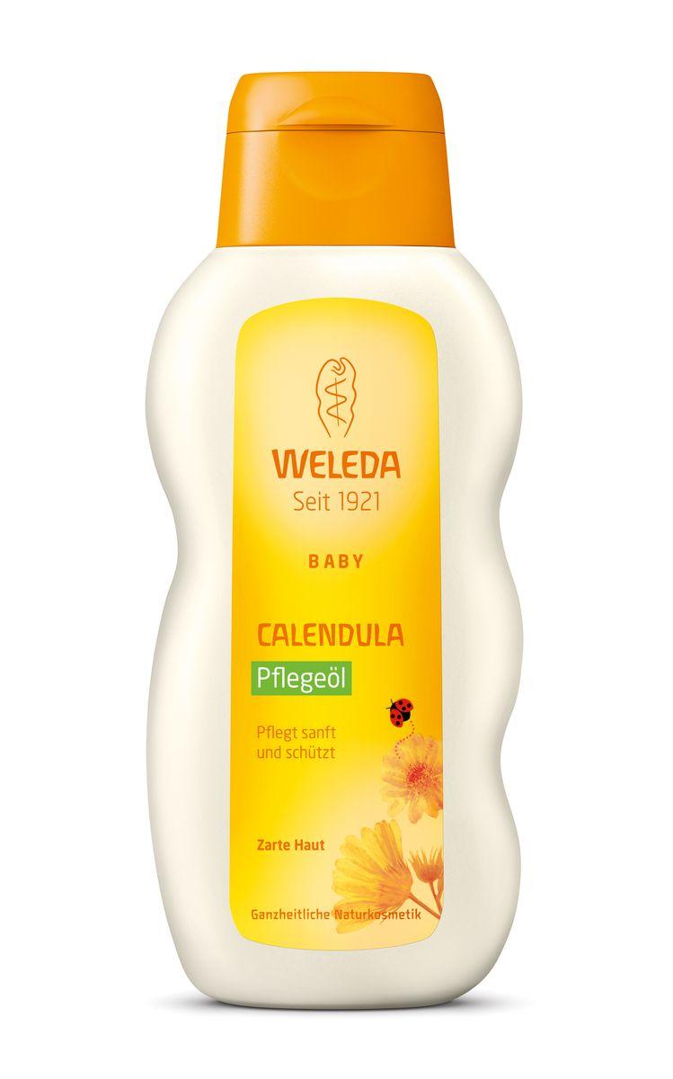 """Масло для младенцев """"Weleda"""", с календулой, 200 мл 8819"""
