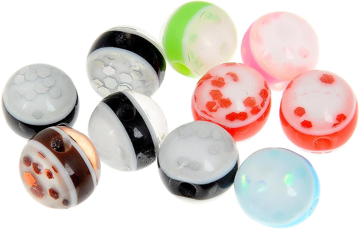 Набор бусин Magic 4 Hobby, цвет: черный, красный, салатовый, диаметр 8 мм, 10 штБУС.E8506.10Набор бусин Magic 4 Hobby, изготовленный из высококачественного акрила, позволит вам своими руками создать оригинальные ожерелья, бусы или браслеты. Бусины имеют круглую форму яркой окраски Изготовление украшений - занимательное хобби и реализация творческих способностей рукодельницы, это возможность создания неповторимого индивидуального подарка. Диаметр бусины: 8 мм.