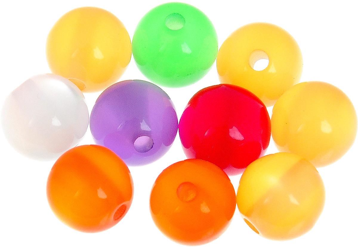Набор бусин Magic 4 Hobby, цвет: желтый, зеленый, красный, диаметр 10 мм, 10 штБУС.E8506.01Набор бусин Magic 4 Hobby, изготовленный из высококачественного акрила, позволит вам своими руками создать оригинальные ожерелья, бусы или браслеты. Бусины имеют круглую форму яркой окраски Изготовление украшений - занимательное хобби и реализация творческих способностей рукодельницы, это возможность создания неповторимого индивидуального подарка. Диаметр бусины: 10 мм.