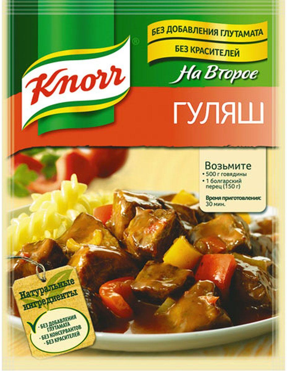 Knorr Приправа На второе Гуляш, 31 г21132982