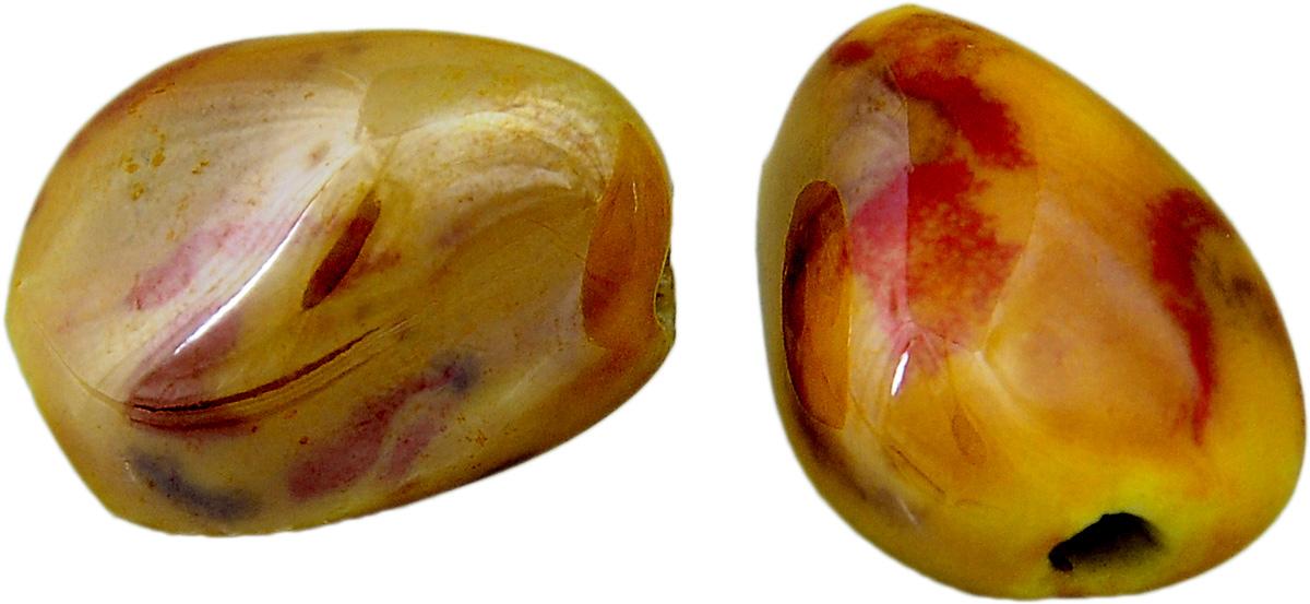 Набор бусин Tesоro, цвет: темно-красный, коричневый (20), 18 х 14 мм, 2 штБУС.КЕРАМ.TS.323.20Набор бусин Tesоro, изготовленный из керамики, позволит вам своими руками создать оригинальные ожерелья, бусы или браслеты. Бусины имеют многогранную форму яркой окраски. Изготовление украшений - занимательное хобби и реализация творческих способностей рукодельницы, это возможность создания неповторимого индивидуального подарка. Размер бусины: 18 х 14 мм.