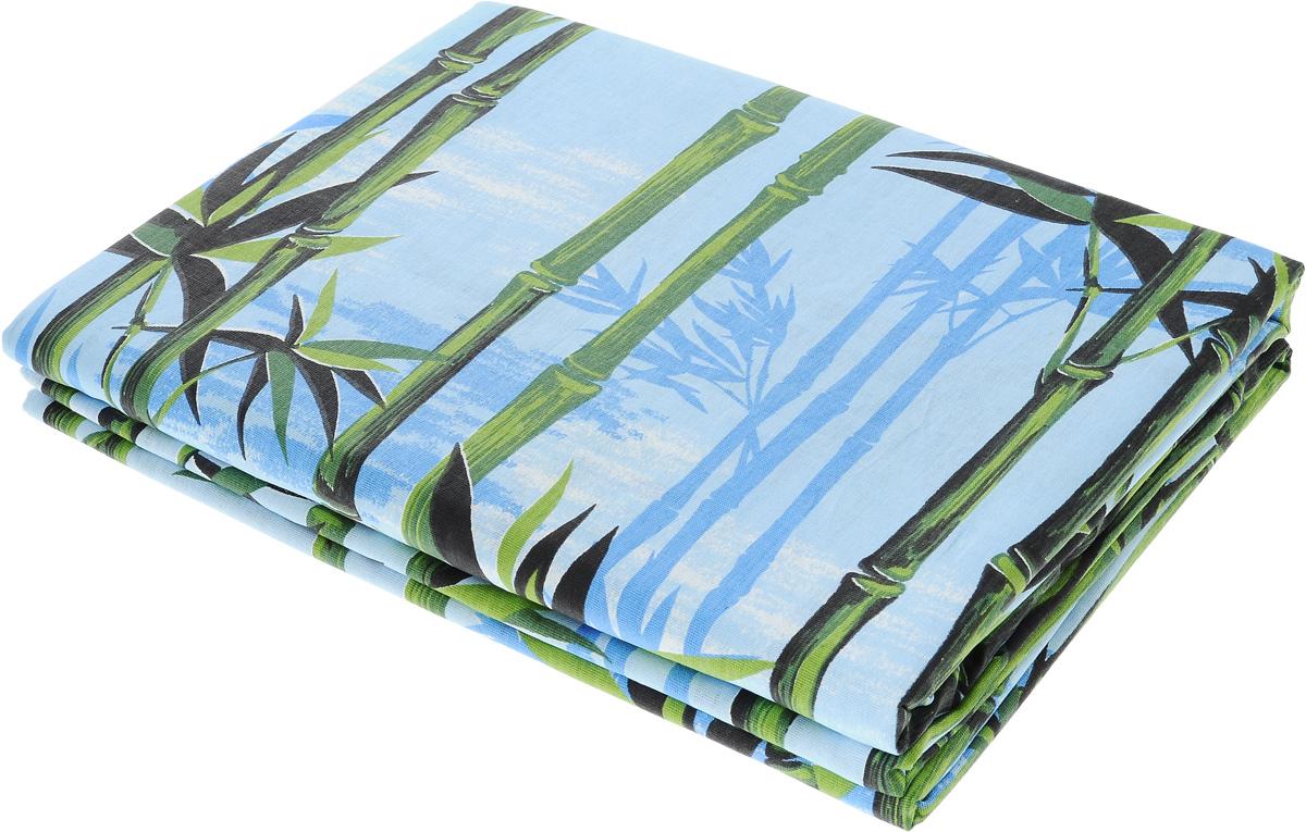 Комплект белья Олеся Бамбук, 2-спальный, наволочки 70х702050115956_синий, коричневыйПостельное белье Олеся Бамбук, оформленное оригинальным принтом, красиво дополнит интерьер спальни и подарит незабываемое чувство комфорта и уюта во время сна. Комплект состоит из двух простыней и двух наволочек. Комплект выполнен из бязи (100% хлопок). Эта ткань отличается высокой воздухопроницаемостью и мягкостью, но в то же время она очень прочна и устойчива к истиранию. Приятная на ощупь бязь идеально подходит для комфортного и спокойного сна. Благодаря долговечности ткани, такое белье выдержит многочисленные стирки без потери качества.