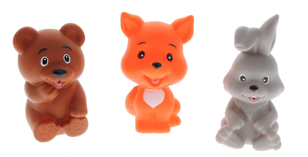 Жирафики Набор игрушек для ванной Лесные друзья 3 шт68178С набором игрушек для ванной Жирафики Лесные друзья принимать водные процедуры станет еще веселее и приятнее. В набор входят 3 игрушки - лисичка, зайчик и медвежонок. Игрушки могут брызгать водой. Набор доставит ребенку большое удовольствие и поможет преодолеть страх перед купанием. Игрушки для ванной способствуют развитию воображения, цветового восприятия, тактильных ощущений и мелкой моторики рук.