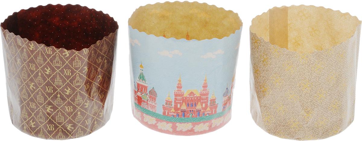 Набор бумажных форм для выпечки куличей Marmiton