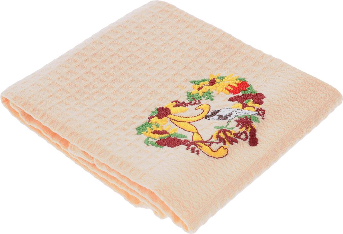 Полотенце кухонное Soavita Птица, 60 х 40 см48804_птицаКухонное полотенце Soavita Птица, выполненное из 100% хлопка, оформлено вышитым рисунком. Изделие предназначено для использования на кухне и в столовой. Такое полотенце станет отличным вариантом для практичной и современной хозяйки. Рекомендуется стирка при температуре 40°C.
