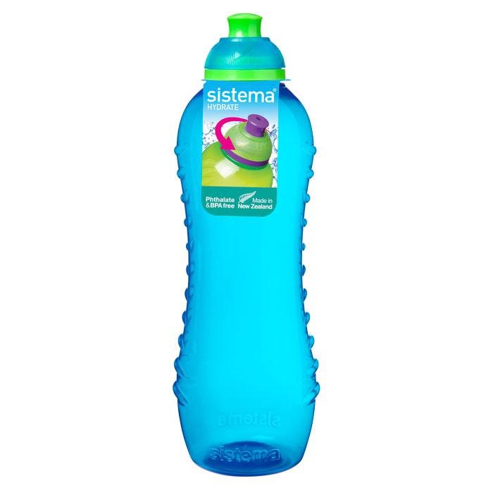 Бутылка для воды Sistema HYDRATE 620мл795Многоразовая бутылка вместимостью 620 мл пригодится в спортзале, на прогулке, дома, на даче. Герметично закрывается. Именно благодаря простоте и комфорту в использовании, качественным материалам и стильному дизайну, бутылочка для воды с поилкой так популярна. Можно мыть в посудомоечной машине.