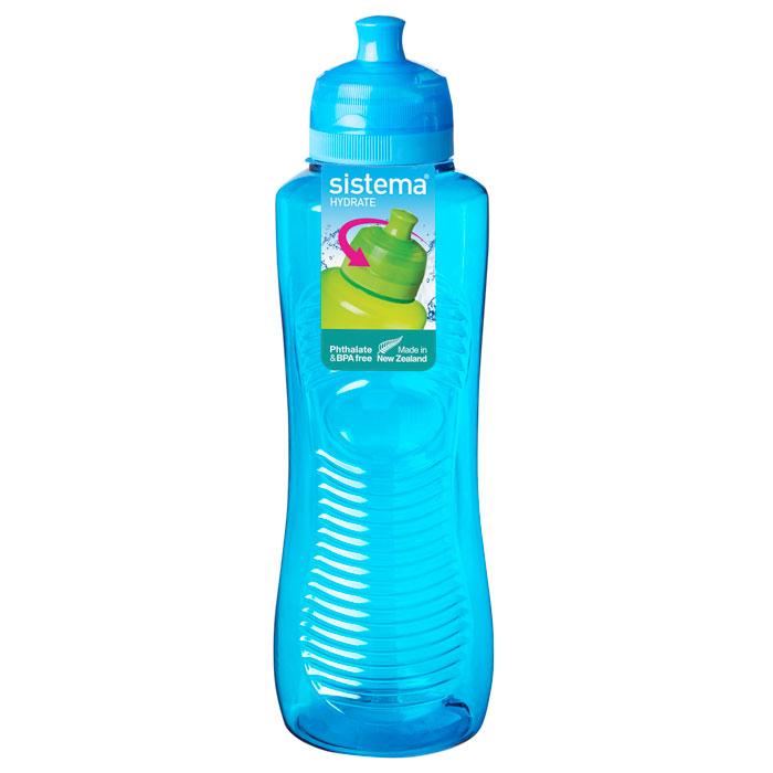 Бутылка для воды Sistema HYDRATE 800мл850Многоразовая бутылка вместимостью 800 мл пригодится в спортзале, на прогулке, дома, на даче. Герметично закрывается. Именно благодаря простоте и комфорту в использовании, качественным материалам и стильному дизайну, бутылочка для воды с поилкой так популярна. Можно мыть в посудомоечной машине.