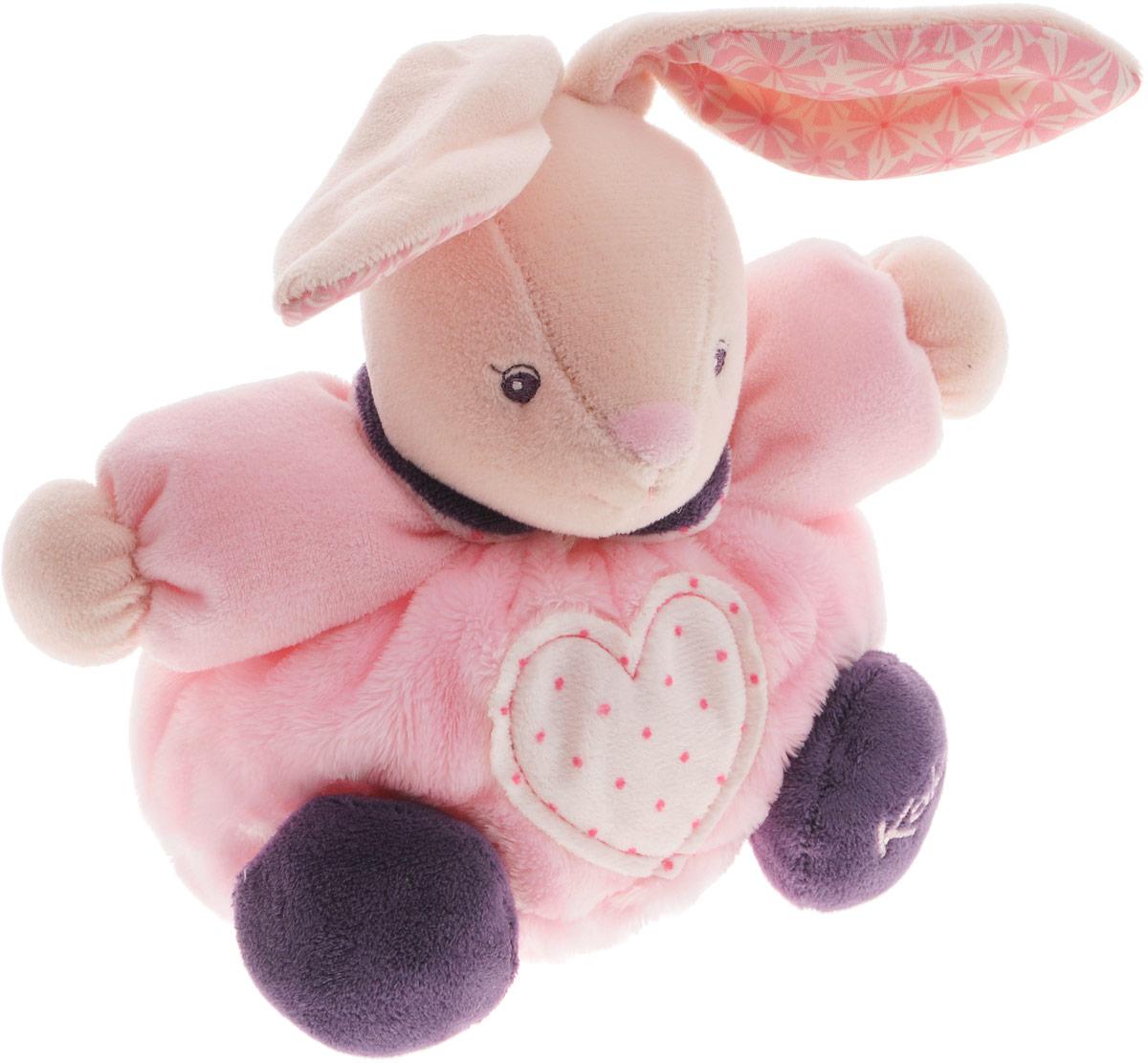 Kaloo Мягкая игрушка Заяц Сердце 16 смK969863Очаровательная мягкая игрушка Kaloo Заяц. Сердце надолго станет постоянным спутником малыша и его любимой игрушкой. Изделие выполнено из мягкого материала различных цветов. На животике зайчонка имеется аппликация в виде сердца, на лапке зайчика вышит фирменный логотип Kaloo. Игры с мягкими игрушками развивают тактильную чувствительность и сенсорное восприятие. После стирки изделие не деформируется и не меняет внешний вид. Все игрушки Kaloo прошли множественные тесты и соответствуют мировым стандартам безопасности. Именно поэтому игрушки рекомендованы для детей с рождения, что отличает их от большинства производителей мягких игрушек. Дизайнеры Kaloo продумывают и придают значение каждому этапу в производстве игрушек, начиная от эскиза и заканчивая упаковкой готового изделия.