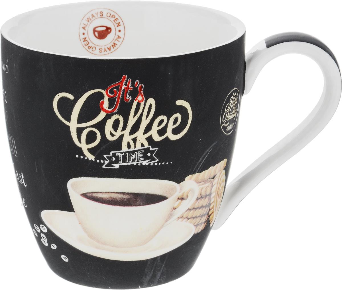 Кружка Nuova R2S Espresso, 350 млR2S1010/ICTW-ALКружка Nuova R2S Espresso изготовлена из высококачественного фарфора. Внешние стенки изделия оформлены рисунком в виде чашки кофе. Такая кружка станет неизменным атрибутом домашнего чаепития, а пить любимый напиток из нее будет еще приятнее. Можно использовать в СВЧ и мыть в посудомоечной машине. Диаметр (по верхнему краю): 9 см. Высота кружки: 9,5 см. Объем: 350 мл.