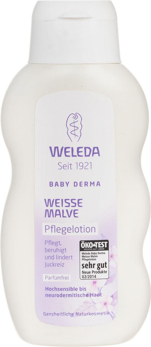 Weleda Молочко для тела Baby Derma, для гиперчувствительной кожи, с алтеем, 200 мл9682Насыщенное молочко с тщательно подобранными безопасными натуральными ингредиентами освежает, увлажняет, охлаждает и успокаивает, а также снимает раздражения. Подходит для ухода за сухой реактивной кожей детей и взрослых, а также при атопическом дерматите. Алтей лекарственный смягчает и обволакивает кожу защитным слоем, ценный экстракт фиалки успокаивает, а органические кокосовое и кунжутное масла интенсивно питают. Основные ингредиенты и их свойства: Экстракт фиалки успокаивает и увлажняет кожу. Кунжутное масло бережно ухаживает за кожей благодаря содержанию полиненасыщенных жирных кислот и ценного витамина Е. Масло бораго благодаря омега-6-ненасыщенным кислотам (гамма-линоленовая жирная кислота) восстанавливает защитный барьер кожи. Содержит Растительные жиры и масла, фитостеролы и витамин Е. Пчелиный воск защищает кожу, не влияя на ее естественные функции. Масло какао содержит ценные насыщенные жирные кислоты и...