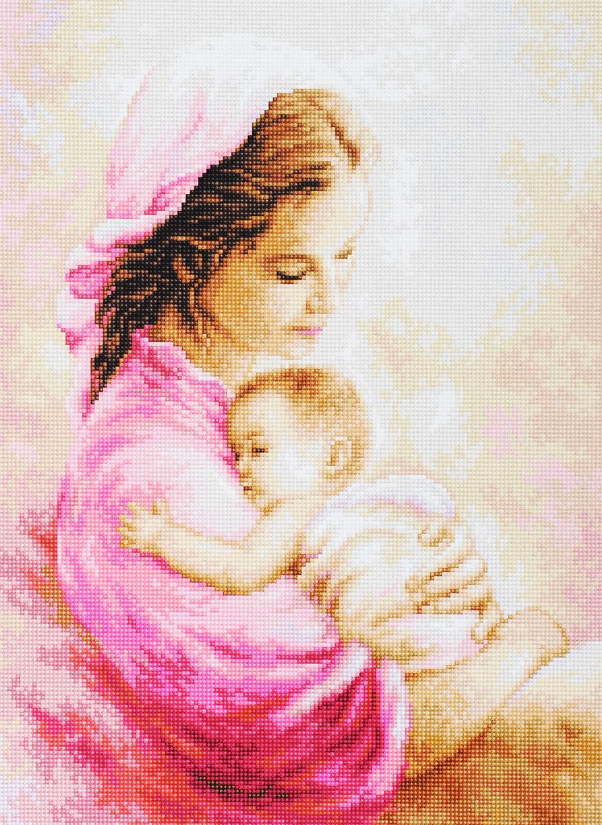 Набор для вышивания крестом Luca-S Мать и дитя, 15 х 20 смG536Набор для вышивания крестом Luca-S Мать и дитя поможет создать красивую вышитую картину. Рисунок-вышивка, выполненный на канве, выглядит стильно и модно. Вышивание отвлечет вас от повседневных забот и превратится в увлекательное занятие! Работа, сделанная своими руками, не только украсит интерьер дома, придав ему уют и оригинальность, но и будет отличным подарком для друзей и близких! Набор содержит все необходимые материалы для вышивки на канве в технике счетный крест. В набор входит: - канва гобеленовая (бежевого цвета), - нитки мулине Anchor (33 цвета), - черно-белая символьная схема, - инструкция на русском языке, - игла. Размер готового изделия: 15 х 20 см. Размер канвы: 28 х 34,3 см.