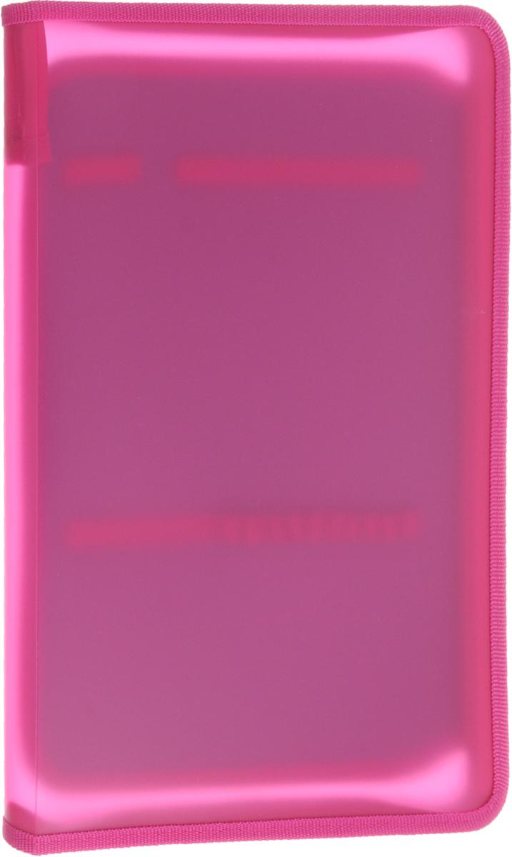 Оникс Папка для тетрадей цвет розовый ПТ-Р6/11021