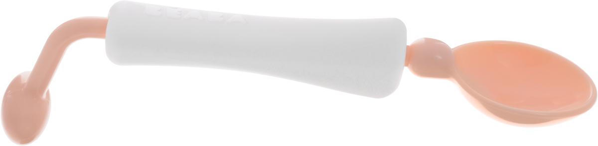 Beaba Ложка для кормления Training Spoon 360 цвет персиковый