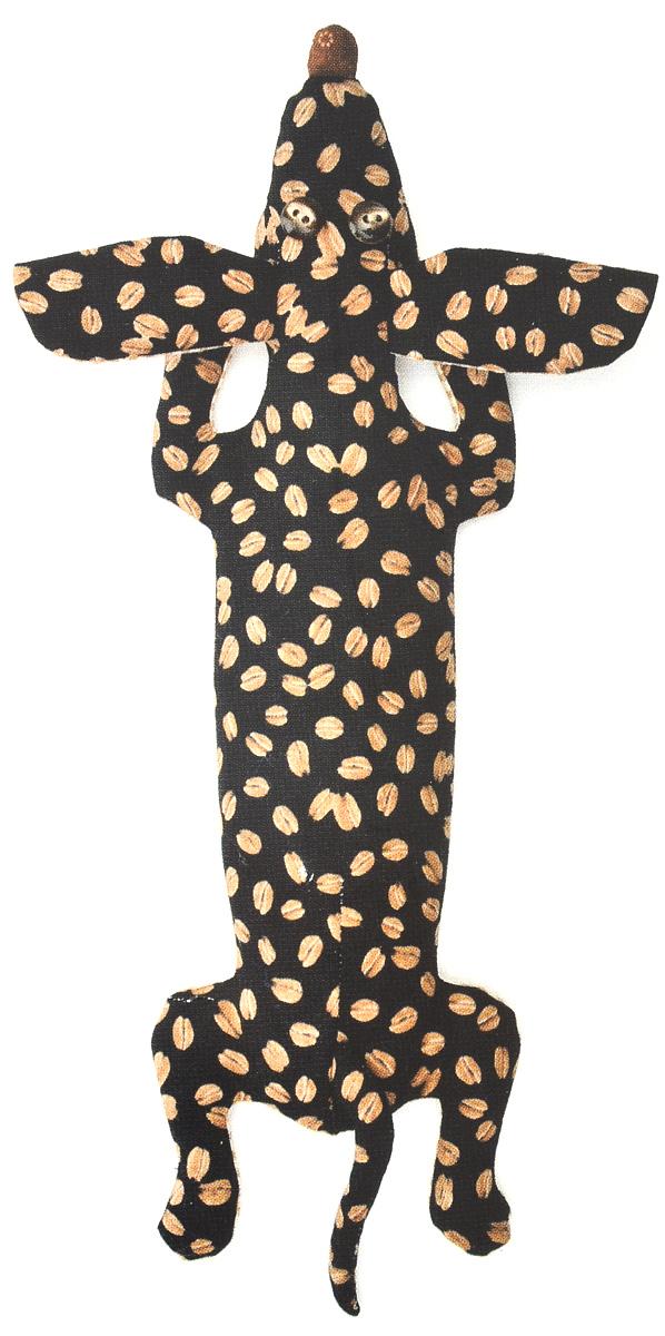 Набор для создания игрушки Перловка Кофейная Такса, длина 34 смКП201Набор Перловка Кофейная Такса поможет создать забавную игрушку-грелку в виде собаки. Исстари в самодельную игрушку вкладывали глубокий смысл и особенно ценили. Наши куклы согревают, поднимают настроение и украшают интерьер. Это оберег, талисман, символ чувств и эмоций мастера. Кукла, сделанная своими руками - лучший подарок своим детям и друзьям. В набор входит: - хлопковая ткань; - нитки для вышивки и декорирования; - синтепон; - фурнитура для глаз; - листы с выкройками; - инструкция на русском языке. Дополнительно вам понадобиться 300-500 грамм перловой крупы и 25-50 грамм кофейных зерен.
