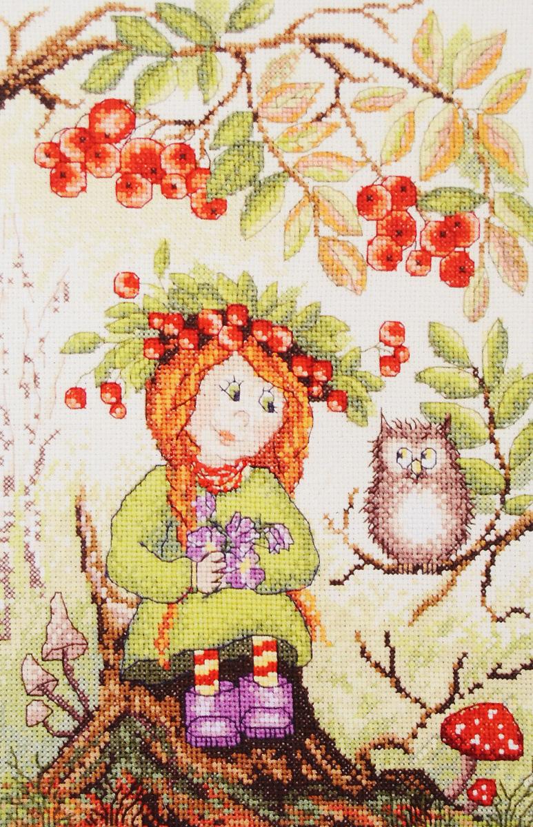 Набор для вышивания крестом Марья Искусница Осенняя ягодка, 20 х 30 см07.001.05Набор для вышивания крестом Марья Искусница Осенняя ягодка поможет создать красивую вышитую картину. Красивый и стильный рисунок-вышивка, выполненный на канве, выглядит оригинально и всегда модно. Работа, сделанная своими руками, создаст особый уют и атмосферу в доме и долгие годы будет радовать вас и ваших близких. А подарок, выполненный собственноручно, станет самым ценным для друзей и знакомых. В наборе есть все необходимое для создания вышивки на канве в технике счетный крест. В набор входит: - канва Aida Zweigart №14 (голубого цвета), - мулине Finca (29 цветов), - черно-белая символьная схема, - инструкция на русском языке, - игла. Размер готовой работы: 20 х 30 см. Размер канвы: 30 х 40 см.