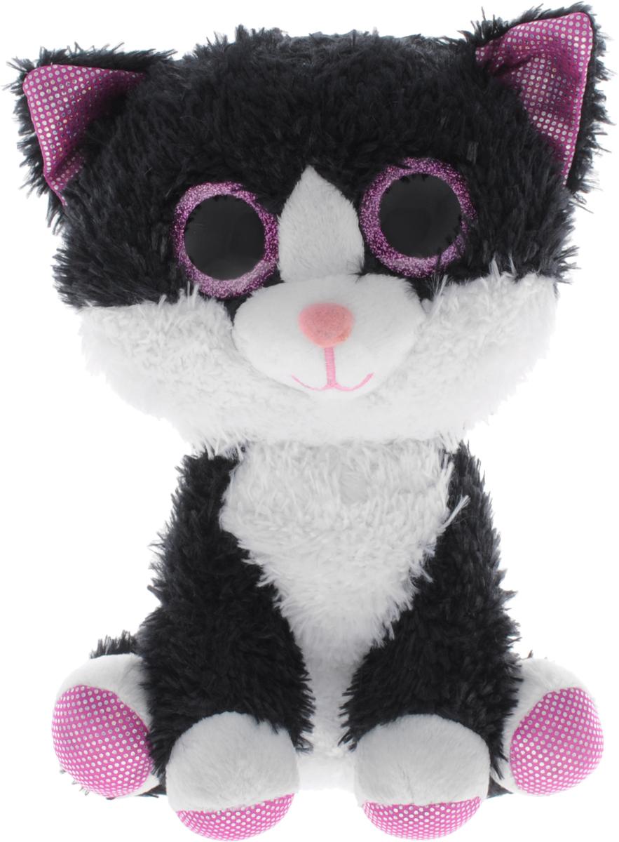 Fancy Мягкая игрушка Котик Глазастик 21 см
