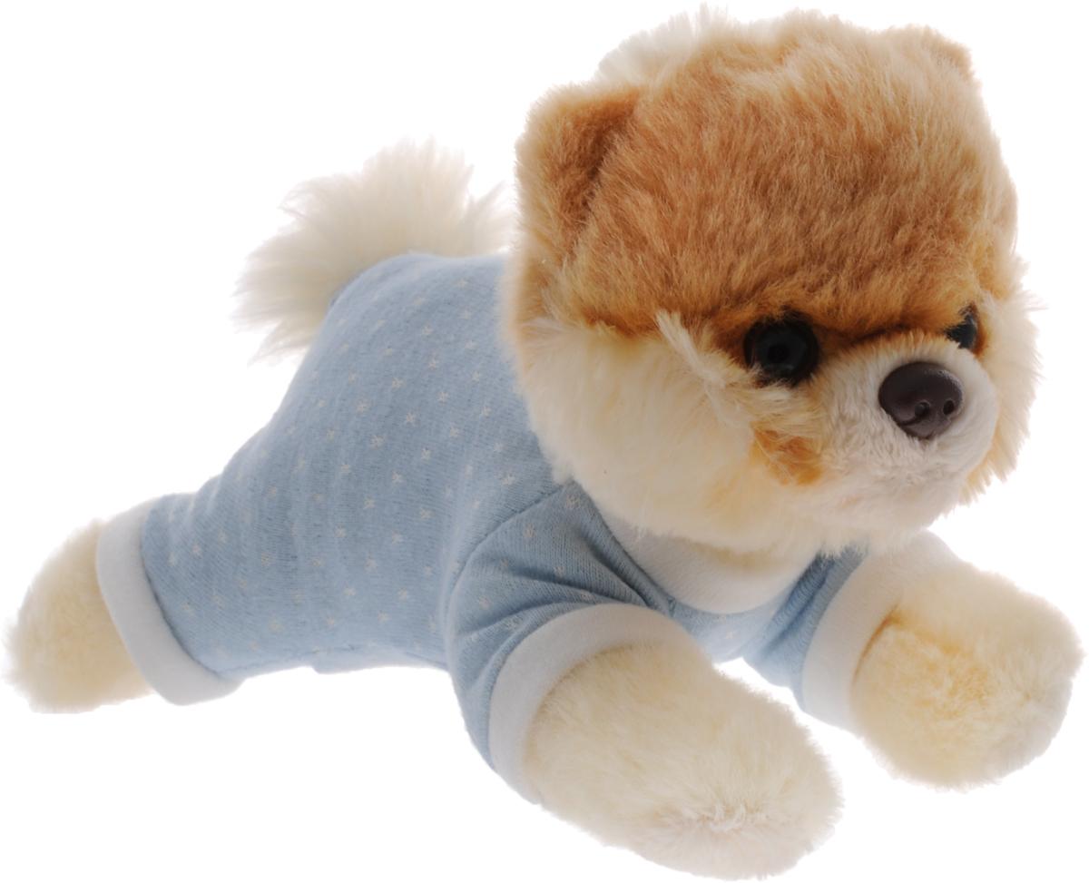 Gund Мягкая игрушка Boo цвет голубой 16 см4037130_голубойМягкая игрушка Gund Boo выполнена из безопасных материалов в виде очаровательного шпица в голубом костюмчике. Игрушка отличается от других реалистичным внешним видом, напоминающим настоящего питомца. Только посмотрите на эту милую мордашку, которая так приветливо смотрит на вас. Такая игрушка вызывает умиление не только у детей, но и у взрослых. Великолепное качество исполнения делают эту игрушку чудесным подарком к любому празднику.