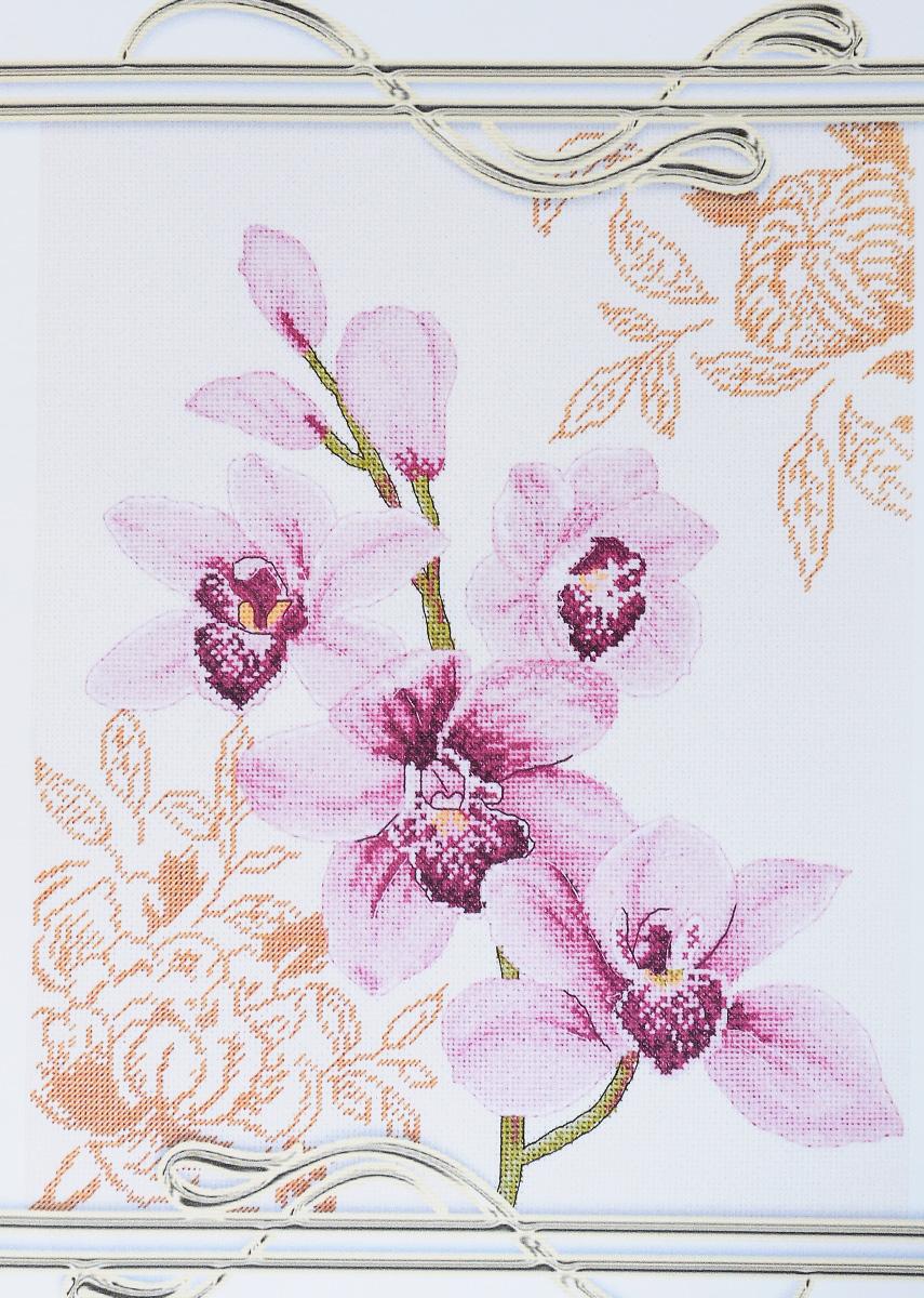 Набор для вышивания крестом Alisena Орхидея - 2, 25 х 31 см549785Набор для вышивания крестом Alisena Орхидея - 2 поможет вам создать свой личный шедевр - красивую картину, вышитую нитками. Красивый и стильный рисунок-вышивка, выполненный на канве, выглядит оригинально и всегда модно. Работа, сделанная своими руками, создаст особый уют и атмосферу в доме и долгие годы будет радовать вас и ваших близких. В наборе есть все необходимое для создания вышивки на канве в технике счетный крест. В набор входит: - канва Аида Zweigart №16 (кремового цвета), - мулине Anchor (11 цветов), - цветная символьная схема, - инструкция на русском языке, - игла. Размер готовой работы: 25 х 31 см. Размер канвы: 45 х 51 см.