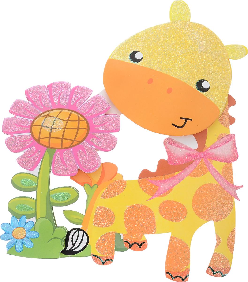 Наклейка декоративная Феникс-Презент Жираф, самоклеющаяся, 35,5 х 25 см31815Наклейка декоративная Феникс-Презент Жираф поможет украсить ваш дом. Наклейка выполнена в виде красочного жирафа. Декоративная наклейка Феникс Жираф многоразового использования. Выбрав новое место в доме, вы легко сможете переклеить наклейку снова. Наклейка прекрасно украсит стены, окна, двери, зеркала и другие поверхности. Создайте в своем доме атмосферу тепла, веселья и радости, украшая его всей семьей.