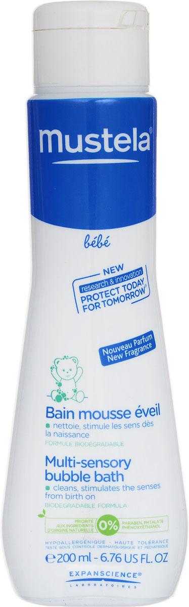 Mustela Пена для ванны, 200 мл216134/007942Пена для ванны Mustela разработана для бережного очищения кожи малыша с рождения. Разработано для минимизации риска аллергических реакций. Свойства: Бережно очищает кожу малыша. Текстура пенки, голубой оттенок и нежный аромат помогают развивать чувственное восприятие ребенка. Не щиплет глаза. Приоритет отдается ингредиентам природного происхождения Биоразлагаемая формула. Преимущества: - Запатентованный ингредиент Avocado Perseose: усиливает кожный барьер и сохраняет клеточные ресурсы кожи - Масло жожоба: восполняет липиды, восстанавливает, надолго увлажняет - Витамины E и F: восстанавливают и поддерживают водный баланс - Масло ши: смягчает, успокаивает и питает эпидермис - Доказанная клиническая эффективность. Товар сертифицирован