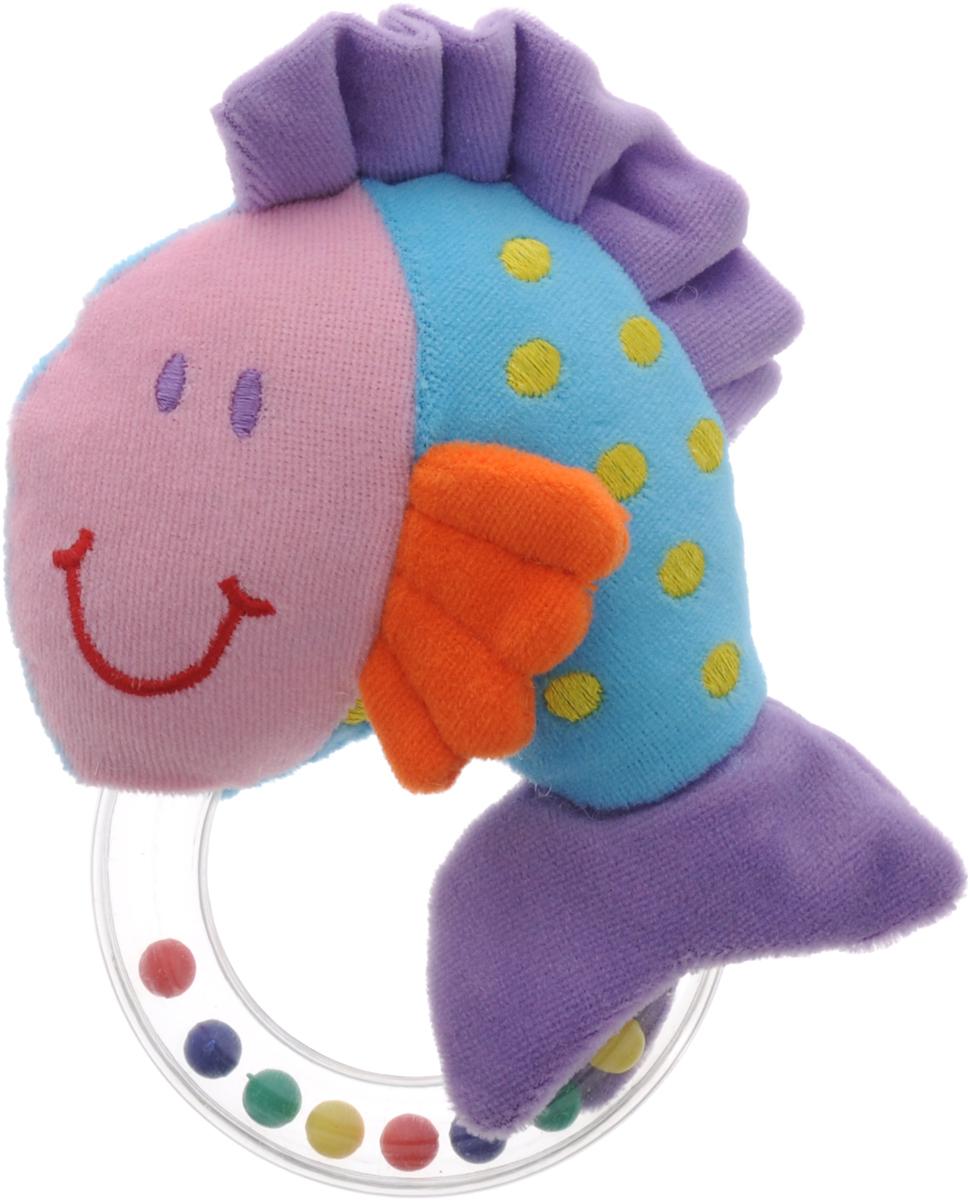 Жирафики Погремушка Рыбка93631Погремушка - очень древняя игрушка! Наши предки считали, что погремушка помогает отогнать злых духов от детской колыбели, а сегодня специалисты утверждают, что игрушка развивает слуховое, пространственное и зрительное восприятия, а также тактильные ощущения, учит находить источник звука, сосредотачиваться и следить за движением. При встряхивании погремушка издает характерный приятный звук. Малыш с интересом будет следить за разноцветными шариками внутри колечка. Погремушка Жирафики Рыбка изготовлена из ярких тканей разных цветов и разной фактуры. Как же весело и интересно ее рассматривать! Но держать ее в маленьких ручках еще интереснее, ведь она таит в себе столько приятных сюрпризов и столько удивительных открытий!