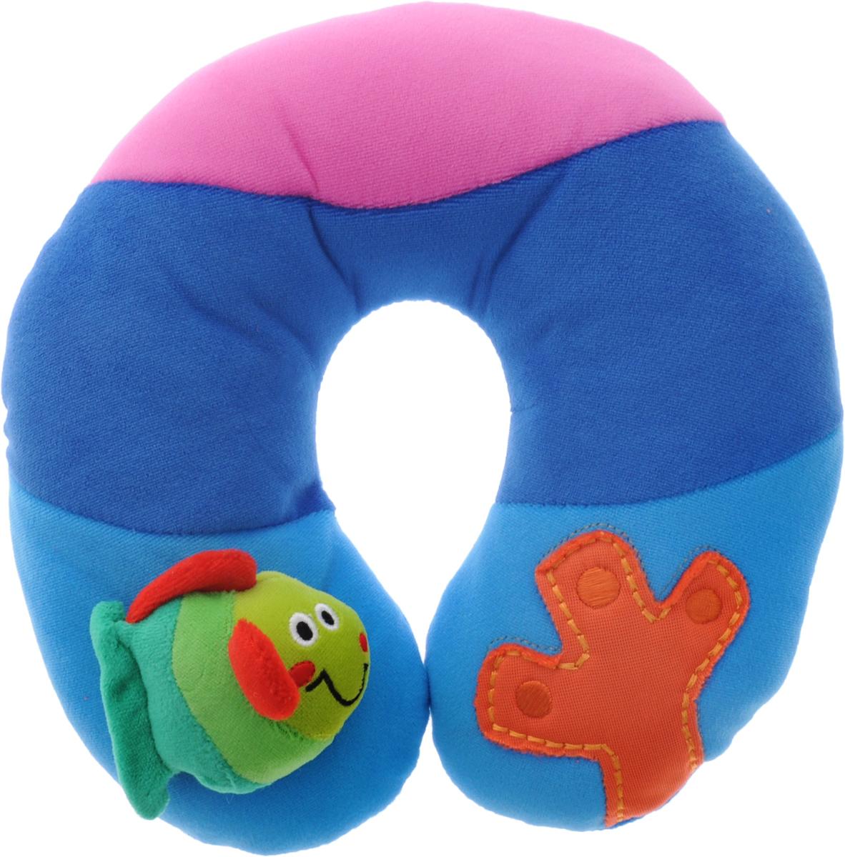 Жирафики Развивающая игрушка-подушка Море