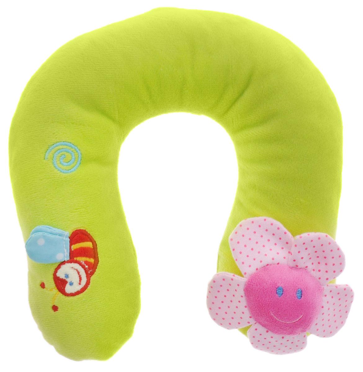 Жирафики Развивающая игрушка-подушка Цветок93496Развивающая игрушка-подушка Жирафики Цветок выполнена из материалов различной фактуры. Удобная игрушка-подушка создана специально для малышей. Подложив подушку под голову, можно вздремнуть, а проснувшись, поиграть с ней. У цветочка шуршат лепестки, а у пчелки - крылышки. Играя, ребенок развивает мелкую моторику рук и тактильные ощущения.