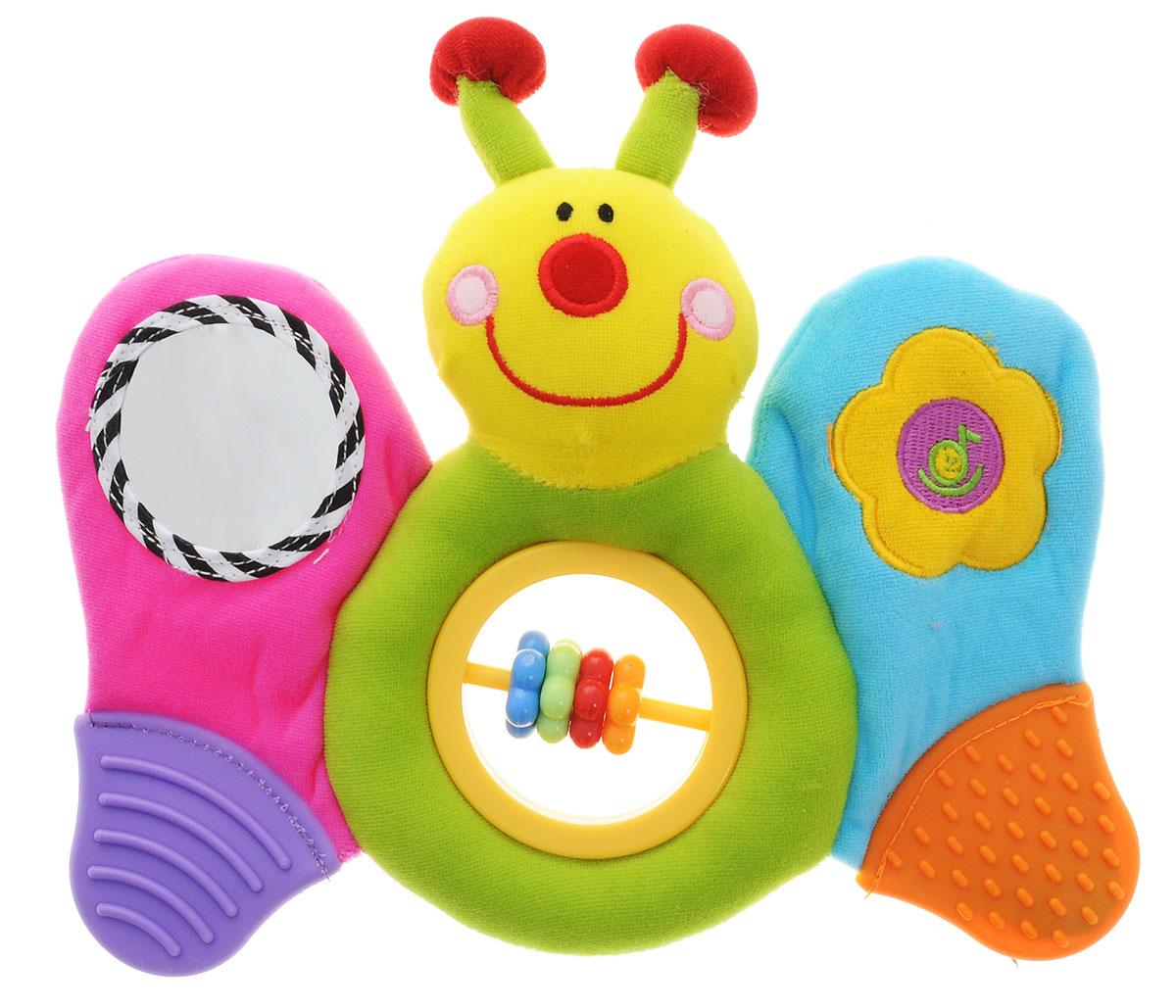 Жирафики Развивающая игрушка Музыкальная бабочка
