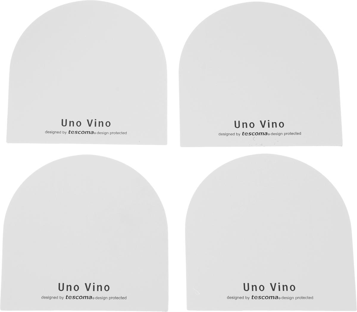 Воронка гибкая Tescoma Uno Vino, 4 шт695524Гибкая воронка Tescoma Uno Vino выполнена из высококачественного алюминия. Предназначена для сервировки стола. Воронку скрутите и вставьте ровным краем в горлышко бутылки таким образом, чтобы она выступала на 3 см. Изделие пригодно для всех стандартных типов винных бутылок и предназначено для многоразового использования.