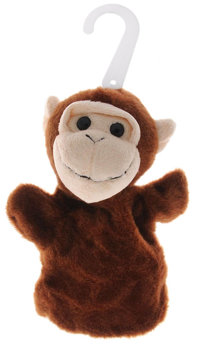 Жирафики Мягкая игрушка на руку Обезьянка68353Мягкая игрушка на руку Жирафики Обезьянка предназначена для игры в кукольный театр. Игрушка представлена в виде головы с отверстием для пальца и платьица из мягкого материала. Глазки выполнены из пластика. Стоит только надеть обезьянку на руку и подвигать пальчиками, как сказка оживет! Играя в кукольный театр, малыш развивает воображение и мелкую моторику рук.