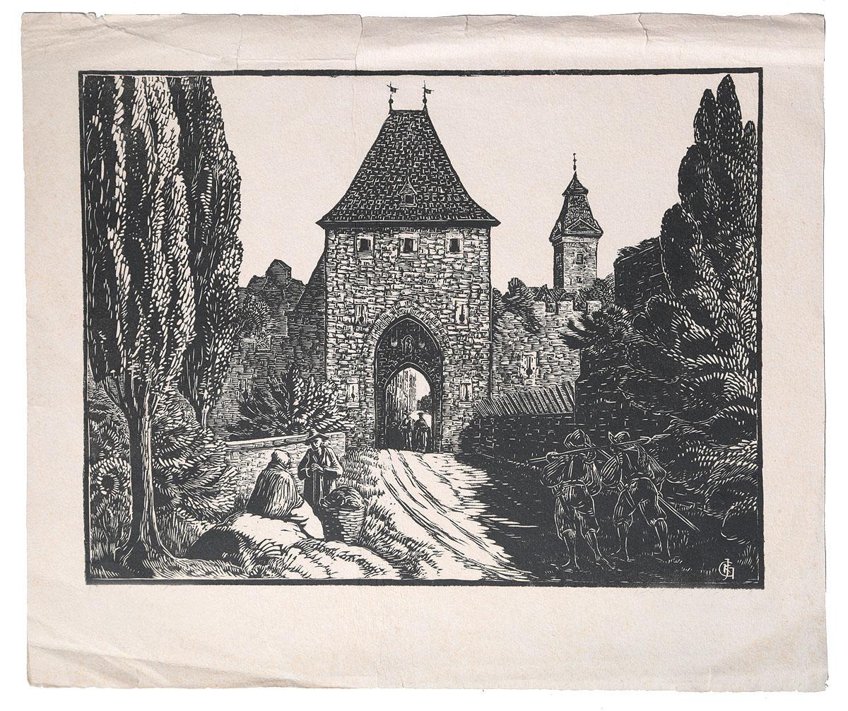 Аахен Ворота, нач. 20 векаАККАА