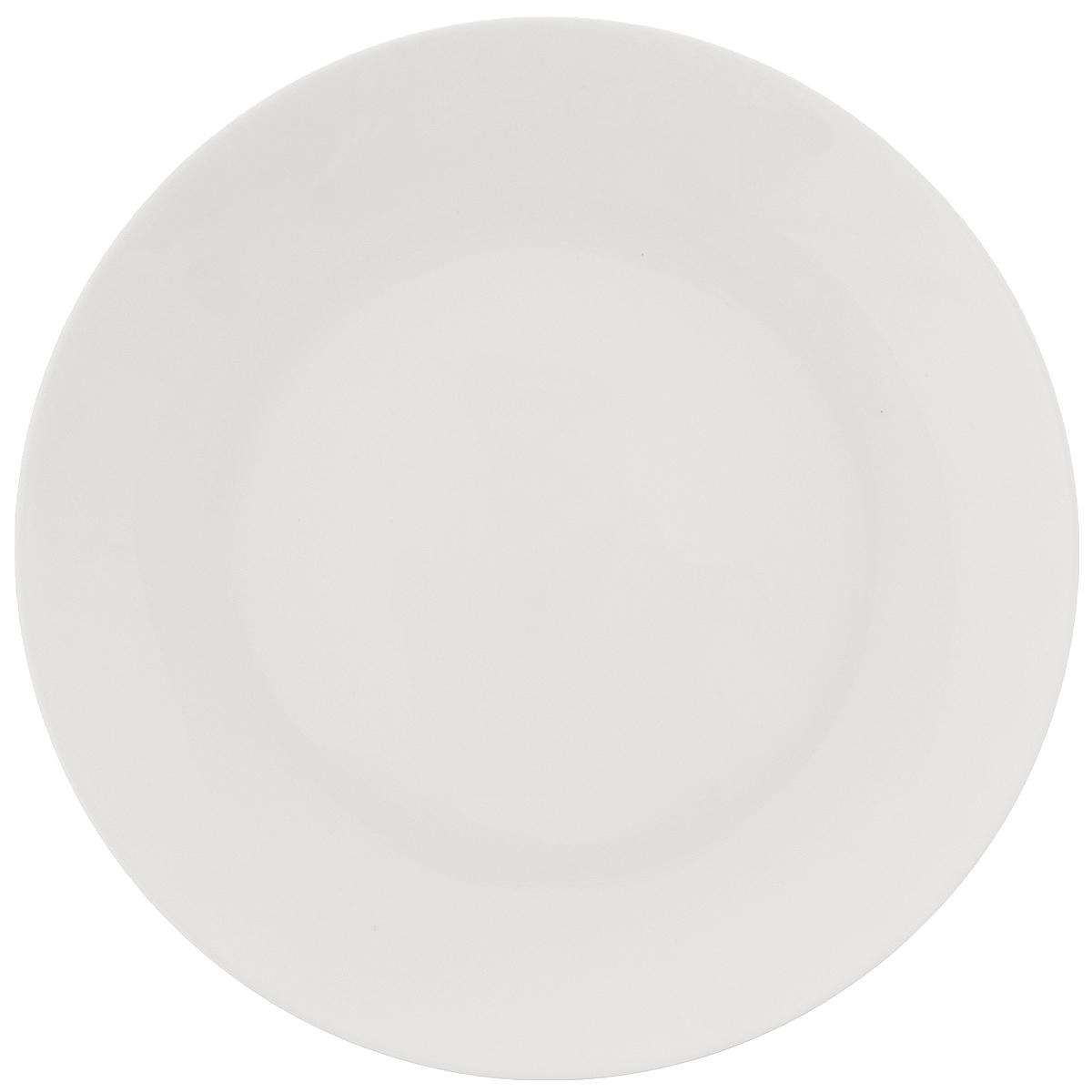 Тарелка Wilmax, диаметр 18 см. WL-991246WL-991246Тарелка Wilmax, изготовленная из высококачественного фарфора, имеет классическую круглую форму. Она прекрасно впишется в интерьер вашей кухни и станет достойным дополнением к кухонному инвентарю. Тарелка Wilmax подчеркнет прекрасный вкус хозяйки и станет отличным подарком. Можно мыть в посудомоечной машине и использовать в микроволновой печи. Диаметр тарелки (по верхнему краю): 18 см.
