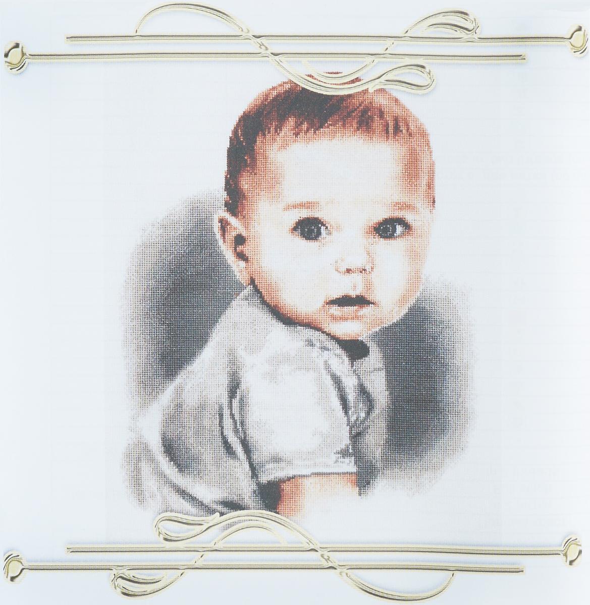 Набор для вышивания крестом Alisena Малыш с голубыми глазками, 23 x 30 см383192Набор для вышивания крестом Alisena Малыш с голубыми глазками поможет вам создать свой личный шедевр - красивую картину, вышитую нитками. Красивый и стильный рисунок-вышивка, выполненный на канве, выглядит оригинально и всегда модно. Работа, сделанная своими руками, создаст особый уют и атмосферу в доме и долгие годы будет радовать вас и ваших близких. В наборе есть все необходимое для создания вышивки на канве в технике счетный крест. В набор входит: - канва Aida Zweigart №16 (белого цвета), - мулине Anchor (15 цветов), - цветная символьная схема, - инструкция на русском языке, - игла. Размер готовой работы: 23 х 30 см. Размер канвы: 38 х 45 см.